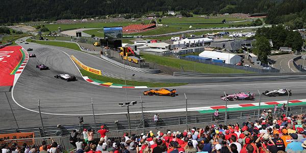 Formula 1 Austrija Grand Prix 2021