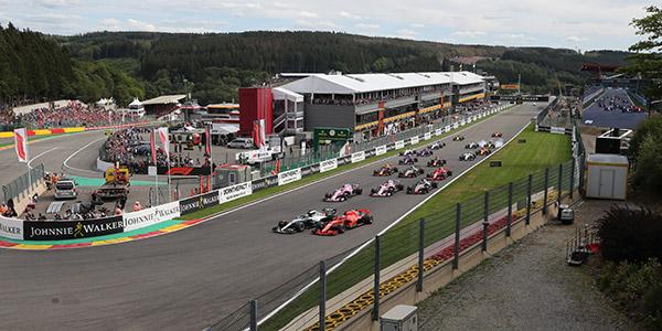 Formula 1 Belgijski Grand Prix 2020